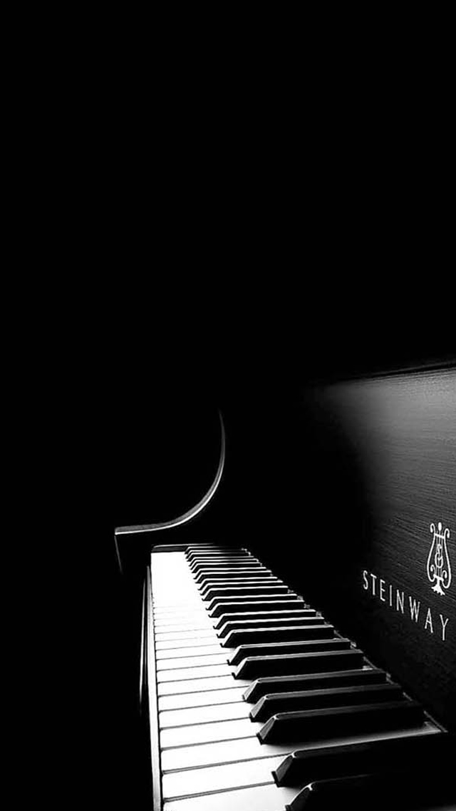 ilikewallpapernet Black Piano iPhone 5 Wallpaper Download 640x1136