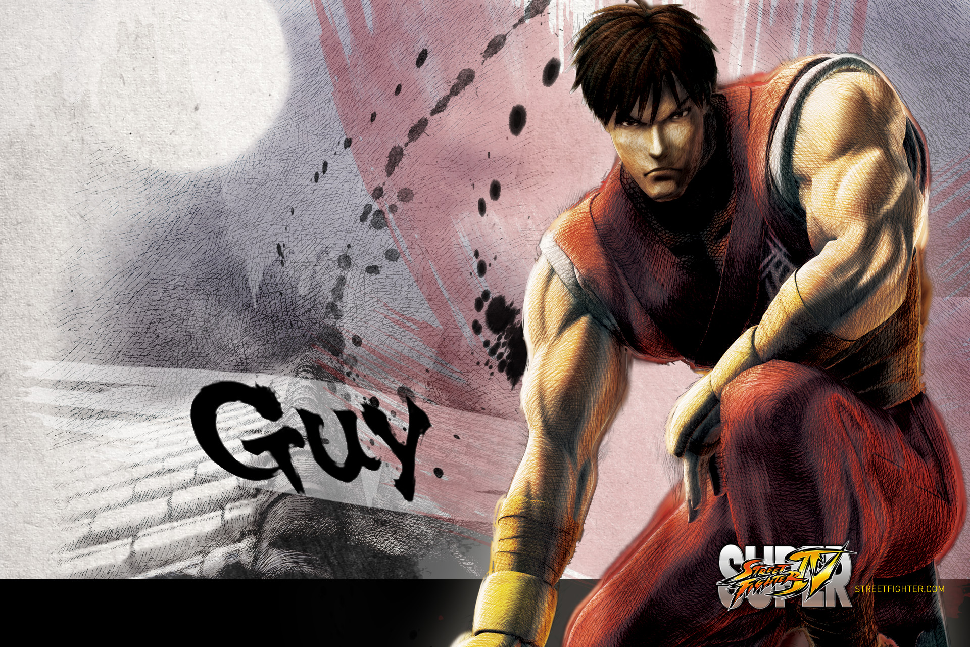 Super Street Fighter 4 Guy Wallpaper   1920x1280 1920x1280