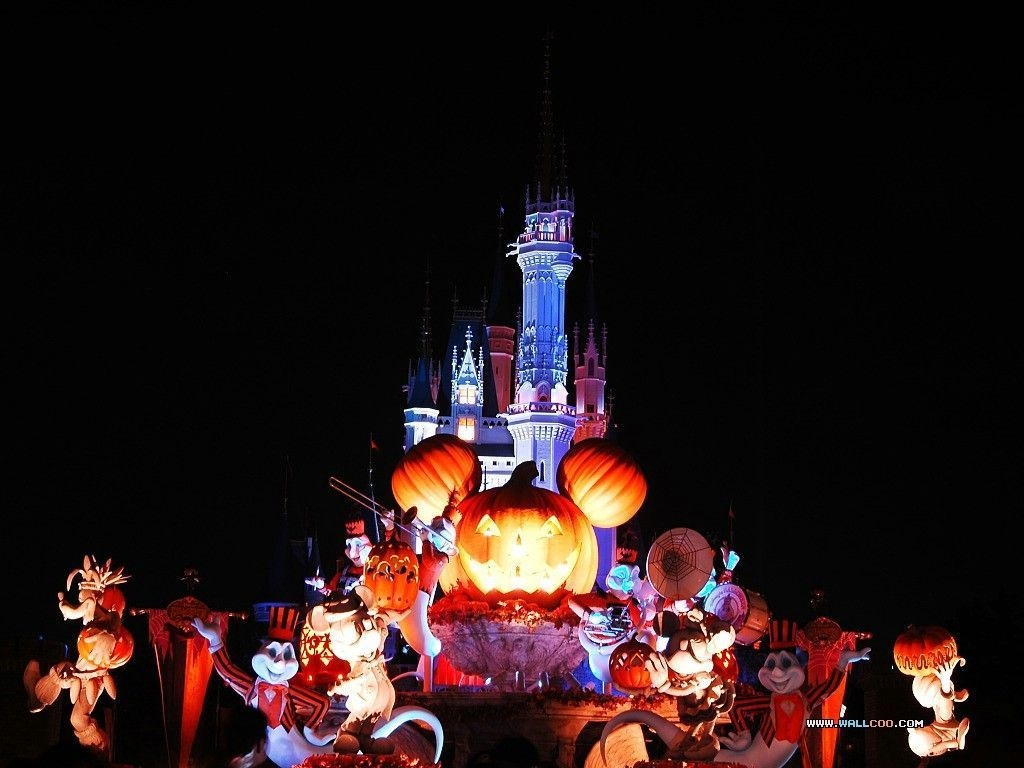 Disney World Halloween Desktop Background   clipartsgramcom 1024x768