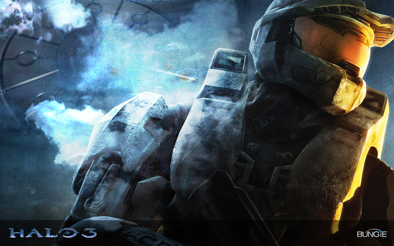 Wallpaper background wallpaper Halo 3 1280x800