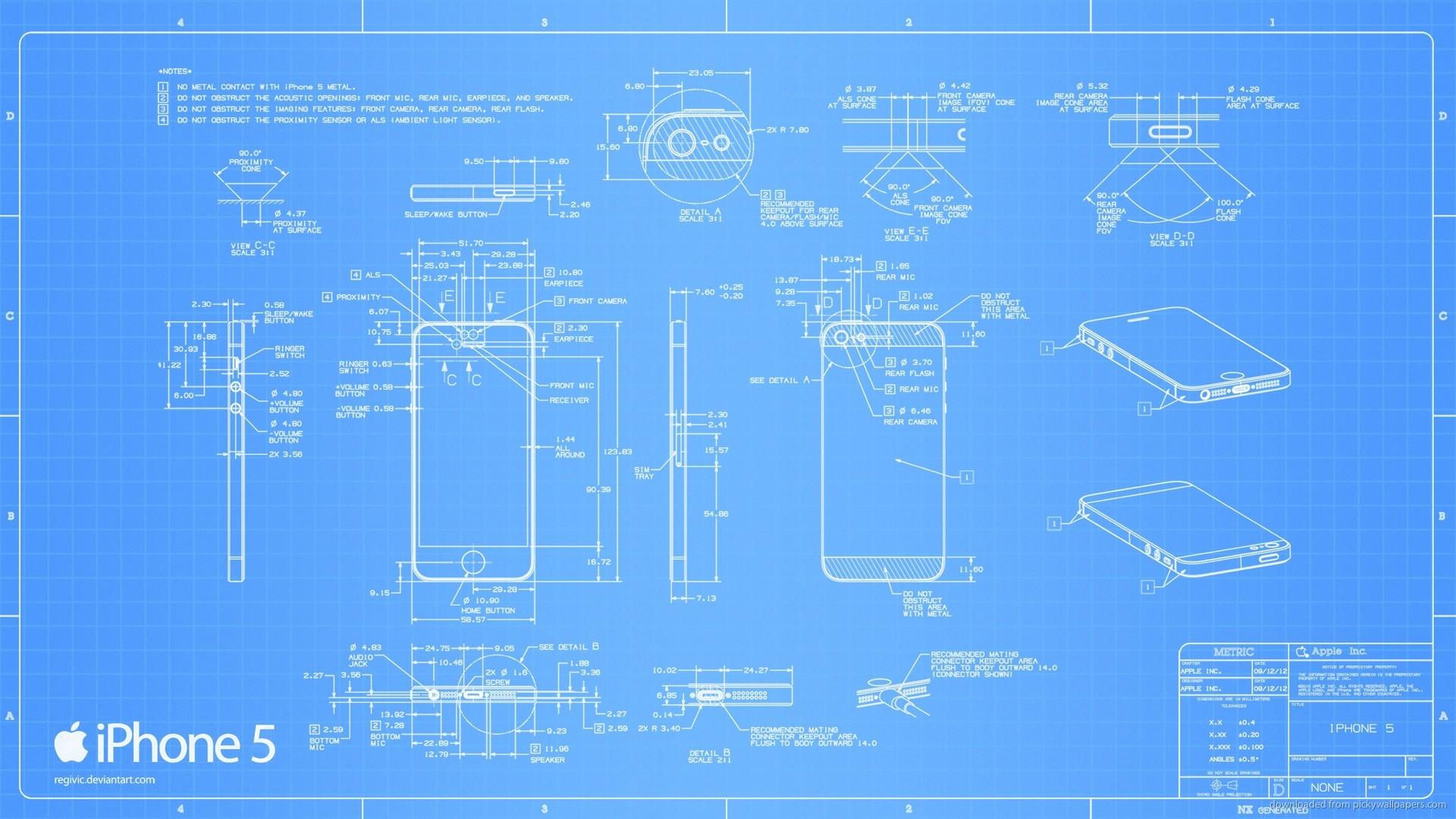 1920x1080px iphone 6 blueprint wallpaper wallpapersafari iphone 5 blueprint picture for iphone blackberry ipad apple iphone 1920x1080 malvernweather Image collections