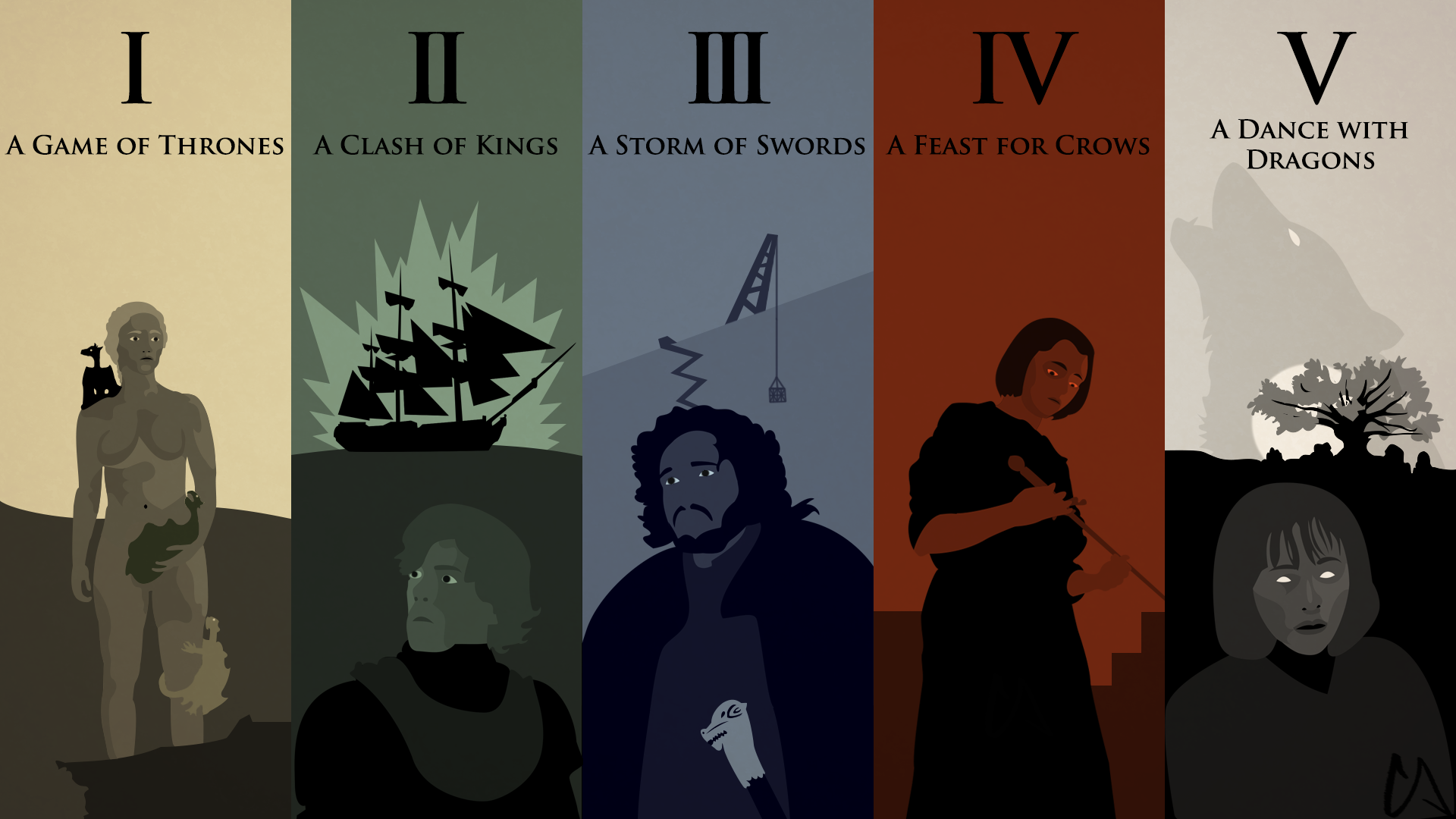 A Song of Ice and Fire Wallpaper by Conkoon 1920x1080