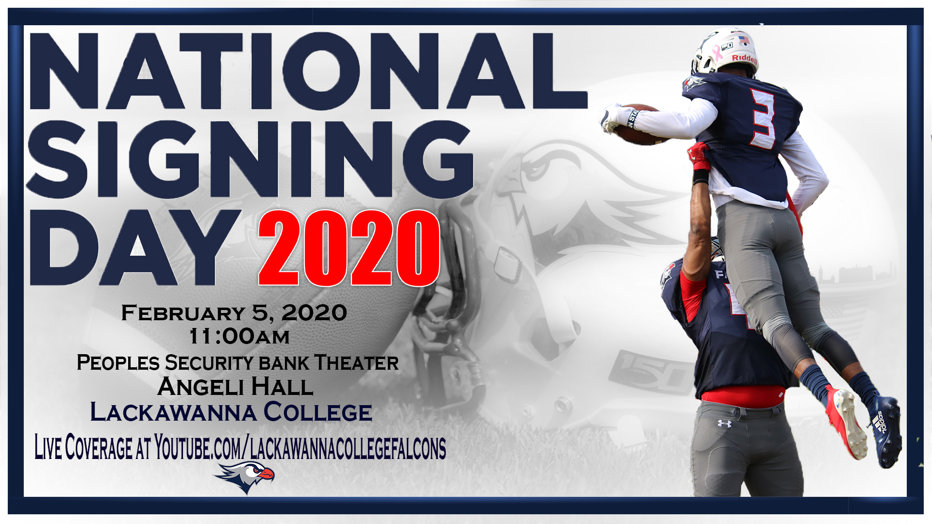 Football to hold National Signing Day event on Wednesday Feb 5th 1920x1080