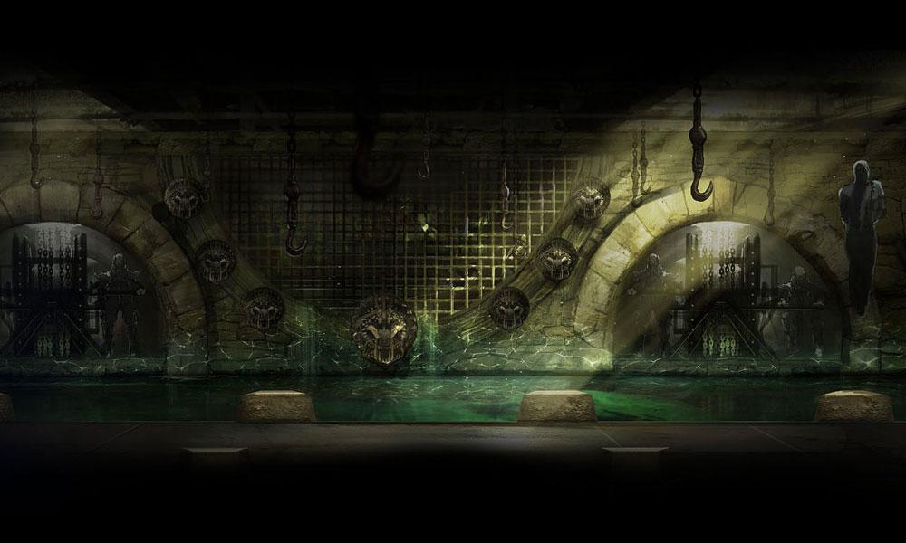 Mortal Kombat Backgrounds 1000x600