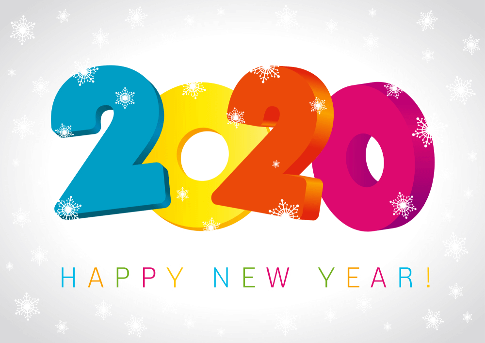 Happy New Year 2020 Images HD Download   Happy New Year 2020 1000x707