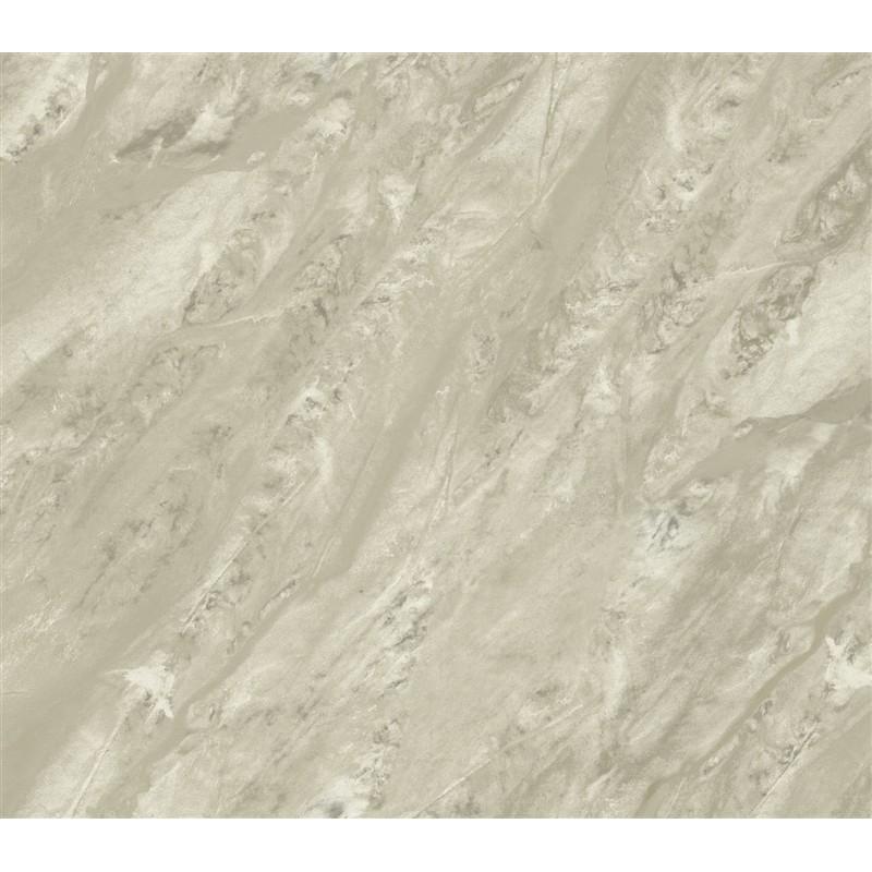 Wallpaper Paper Illusion Travertine Marble Hazelnut Cream Paper 800x800