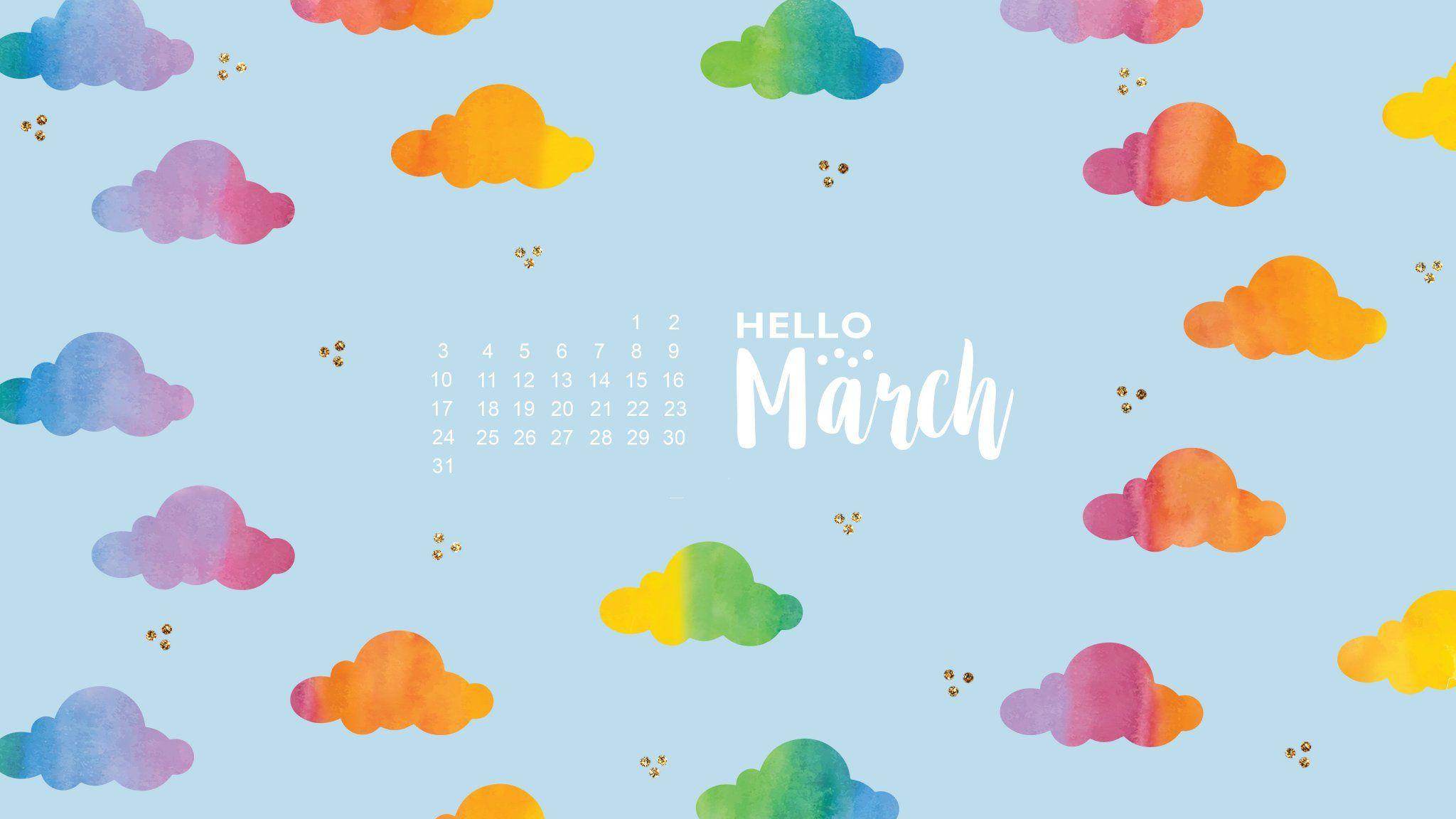 March 2019 Calendar Desktop Wallpapers 150 March 2019 Calendar 2048x1152