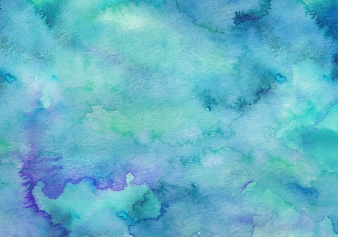 Teal Vector Watercolor Background Watercolor background 1400x980