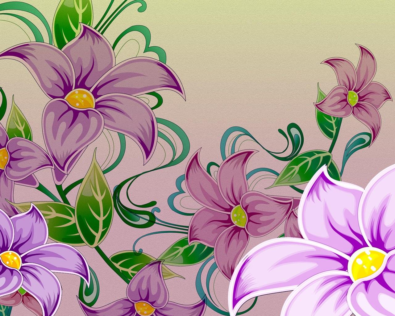 Flower Design Wallpapers Wallpapersafari