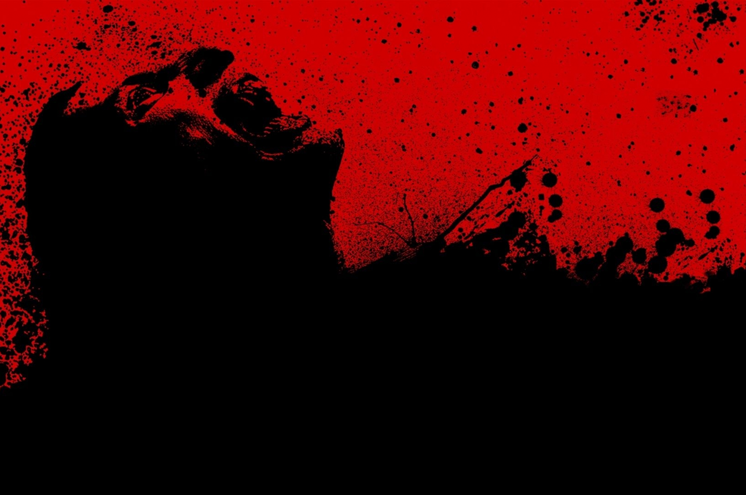 download 30 days of night Red Black Blood Wallpaper 2560x1700