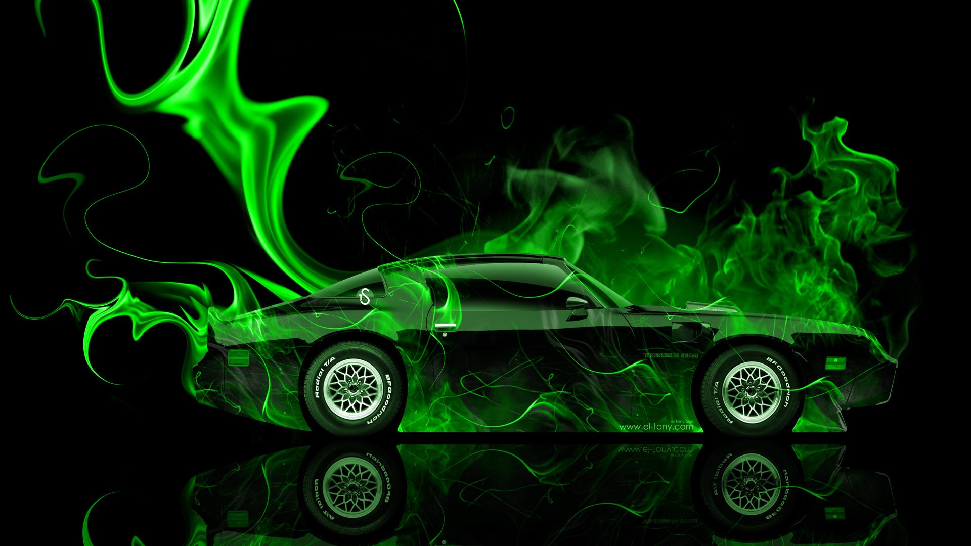 green fire wallpaper - photo #34
