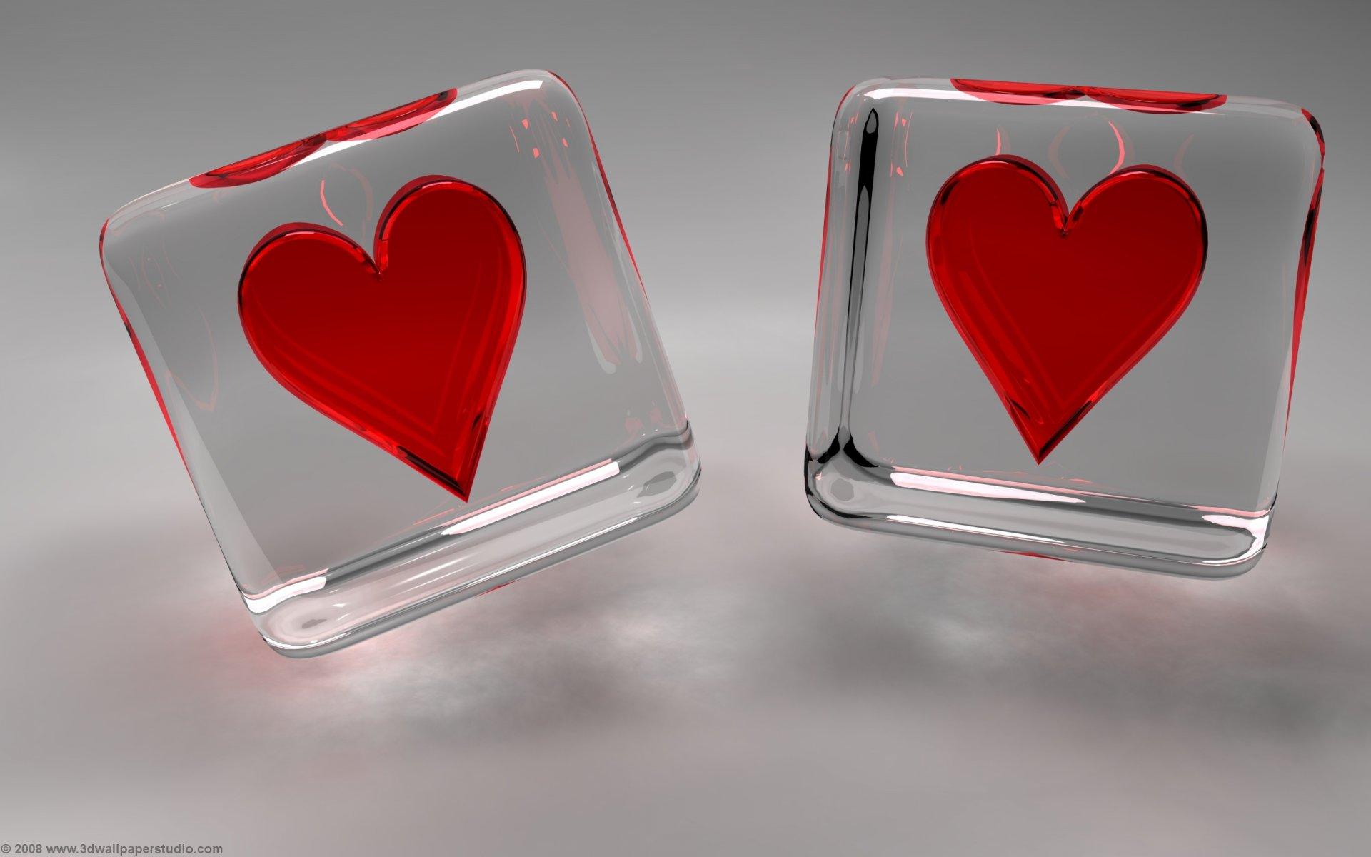 Valentine hearts wallpaper in 1920x1200 screen resolution 1920x1200