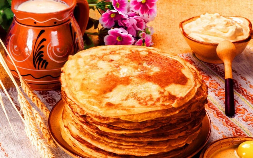 Pancakes Milk Sour Cream Jug   Stock Photos Images HD 1040x650