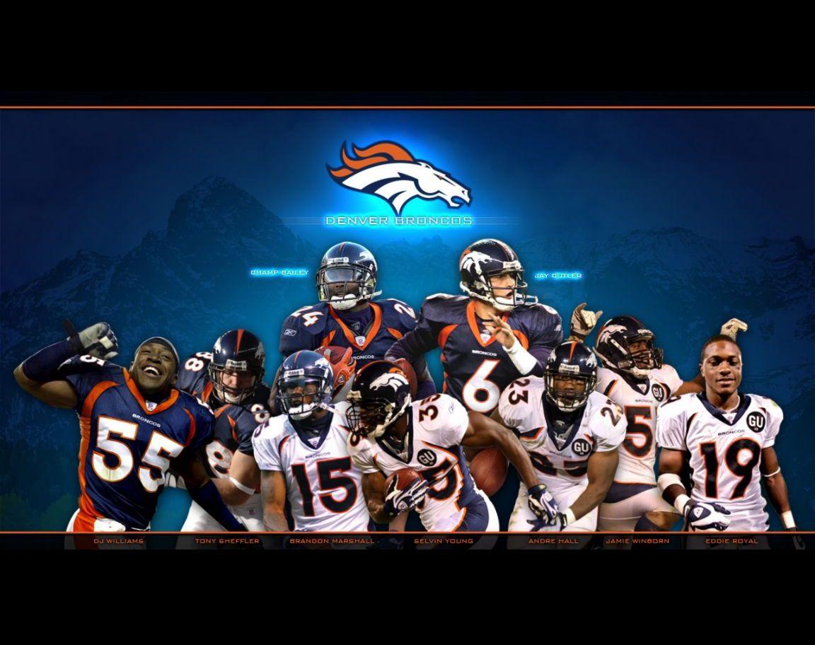 Denver Broncos wallpaper background Denver Broncos wallpapers 1152x912