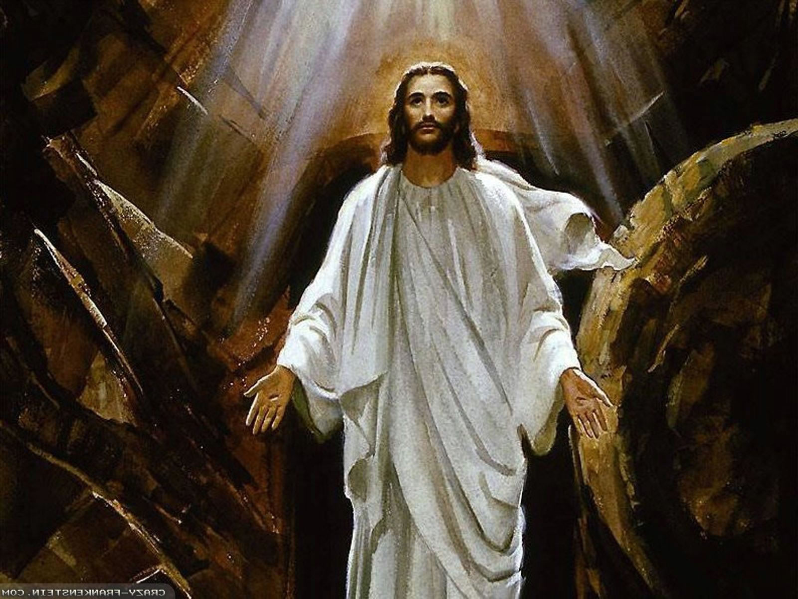 Jesus Resurrection Wallpaper Jesus resurrec 1600x1200