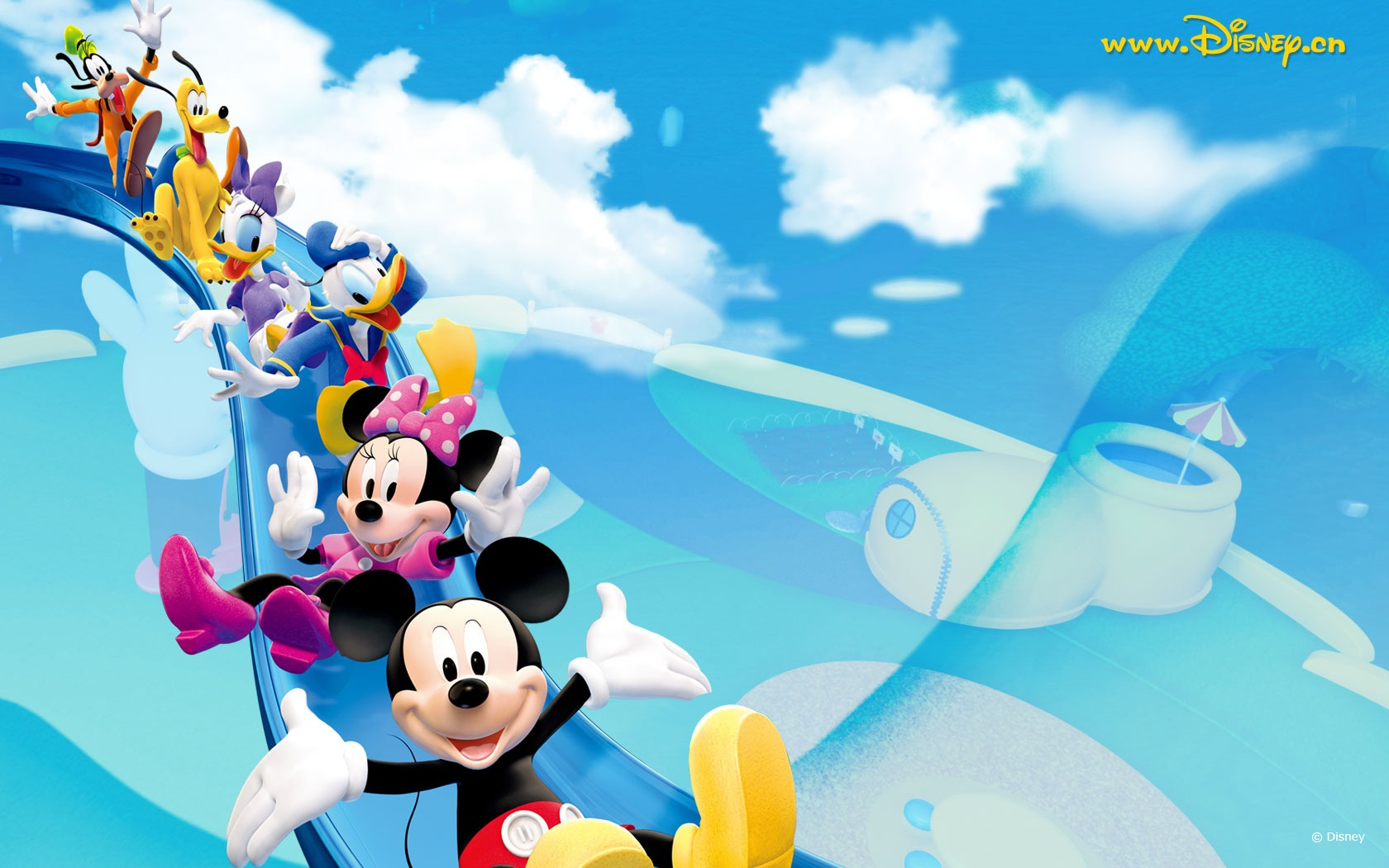 Mickey Mouse Clubhouse Birthday Wallpaper Mickey Mouse Wallpaper 1680x1050