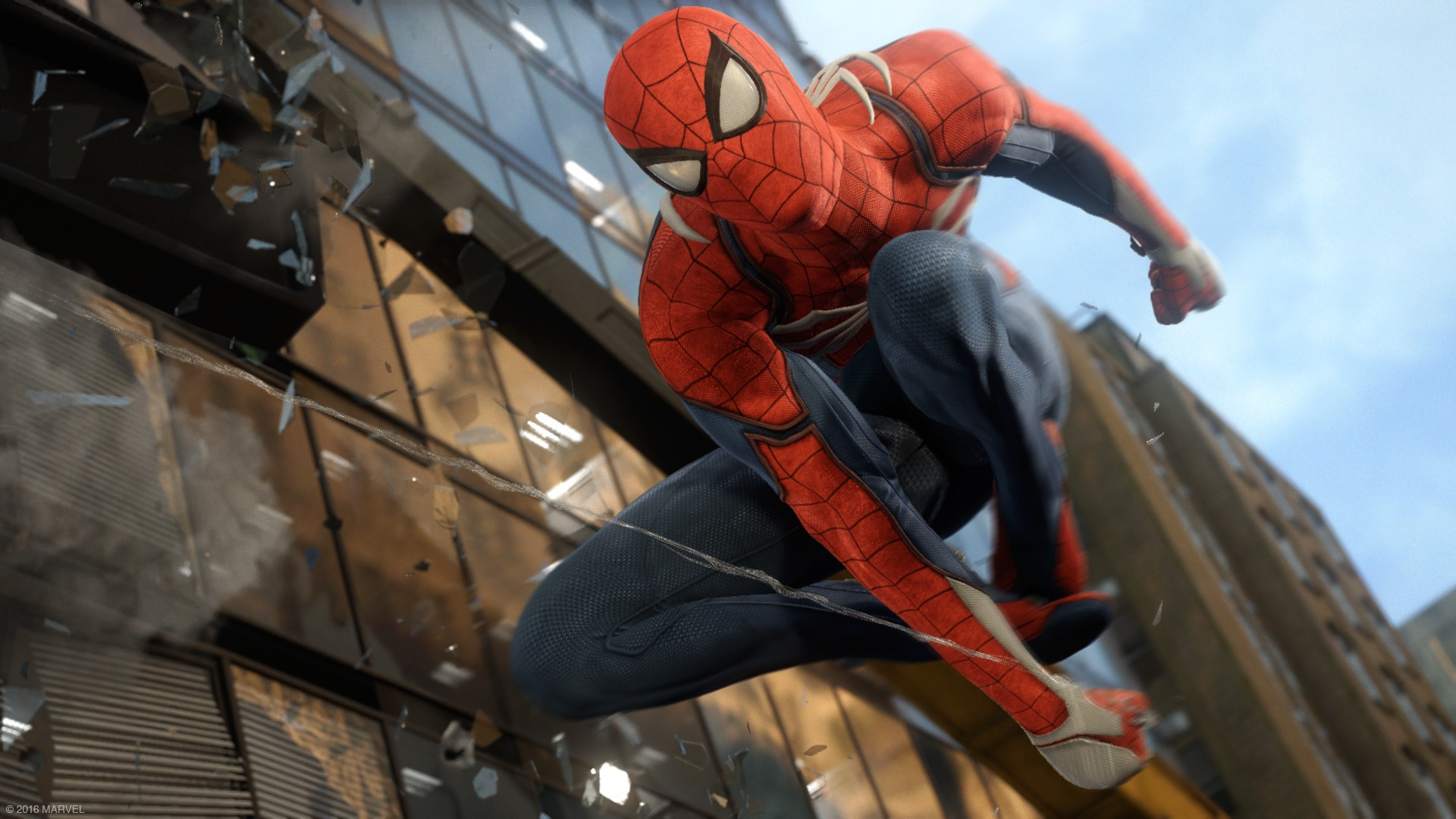 That Spider Man E3 trailer was running in game on a current PS4 1920x1080
