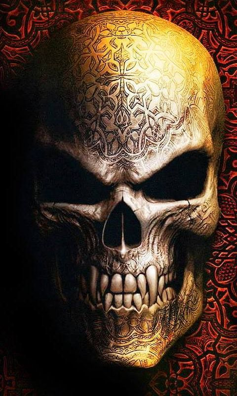 Skull480x800800x480freehotmobile phone wallpaperswwwwallpaper 480x800