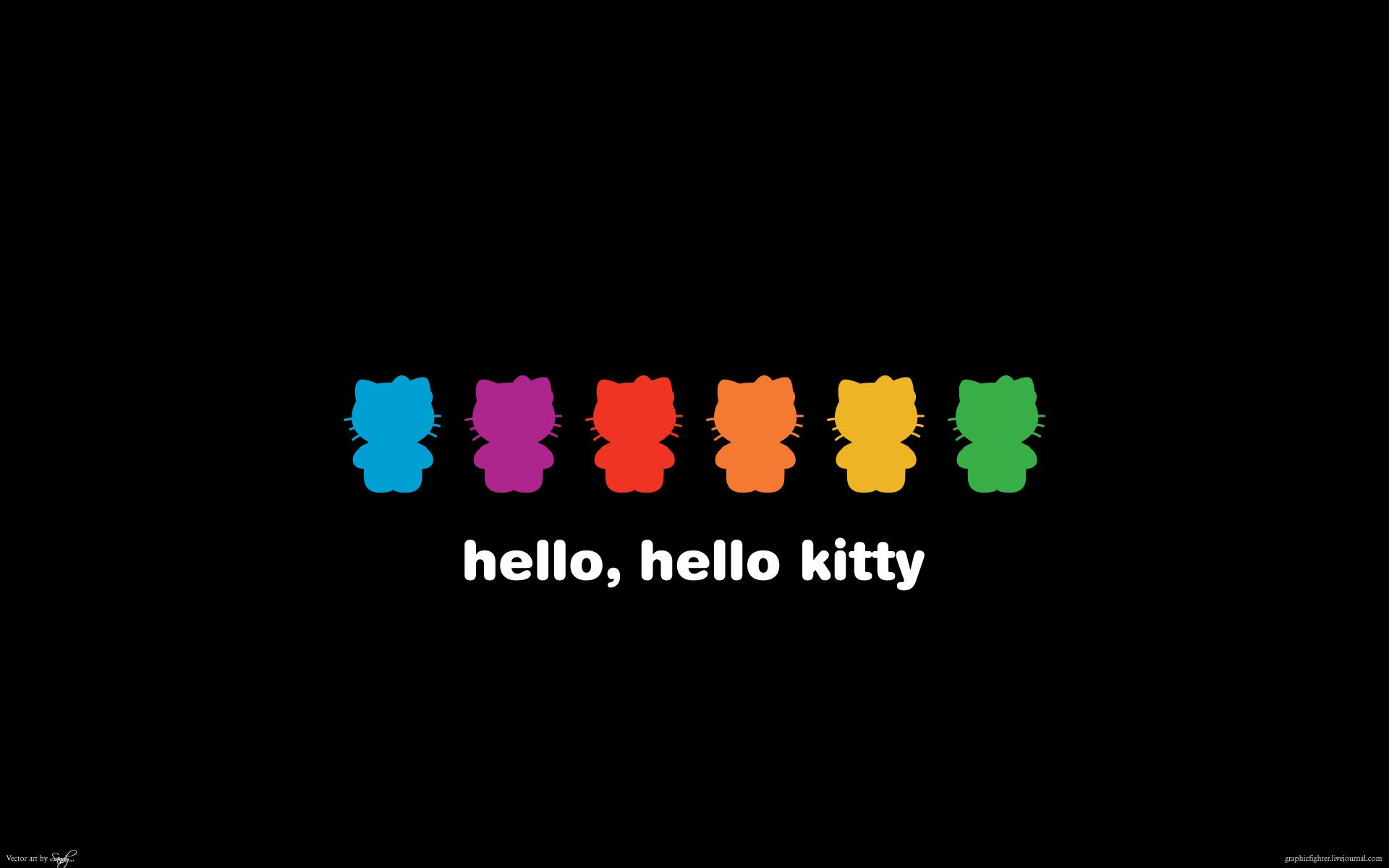 Hello Kitty Rainbow Wallpapers   Top Hello Kitty Rainbow 1920x1200