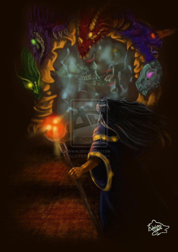 Raistlin Majere  Dragonlance by AdrianWolve 752x1063