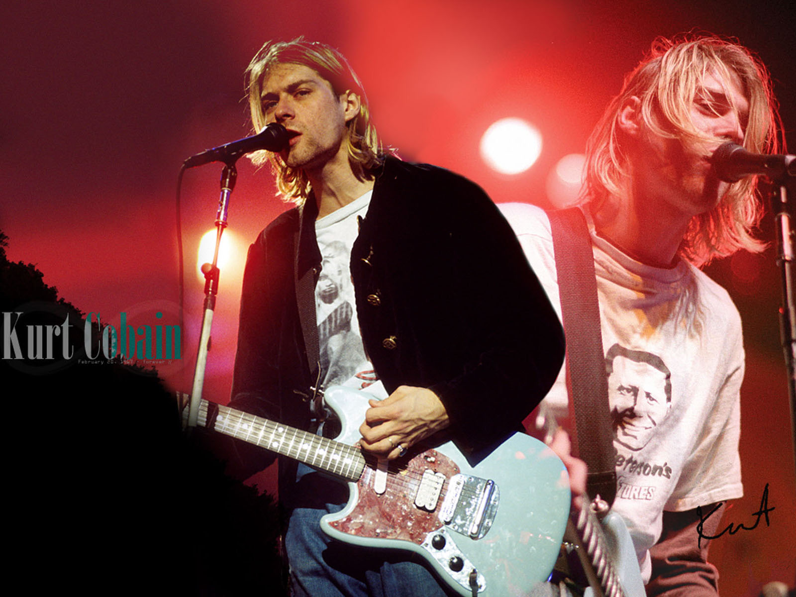 Kurt Cobain HD WallpapersKurt Cobain Wallpapers Pictures 1600x1200