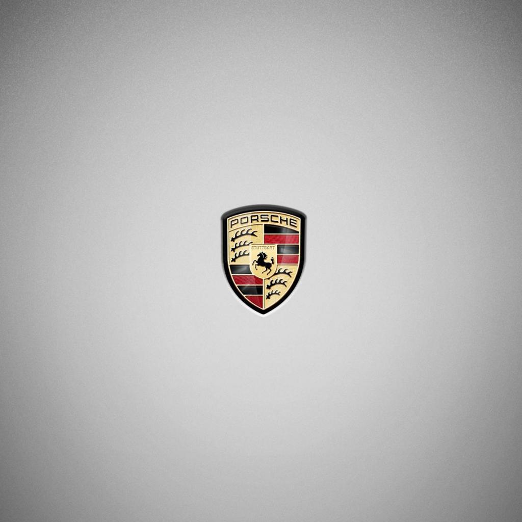 Mobile Porsche Logo Wallpaper Full HD Pictures 1024x1024