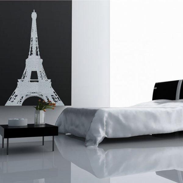 Paris inspired wallpaper wallpapersafari for Paris wallpaper for bedroom