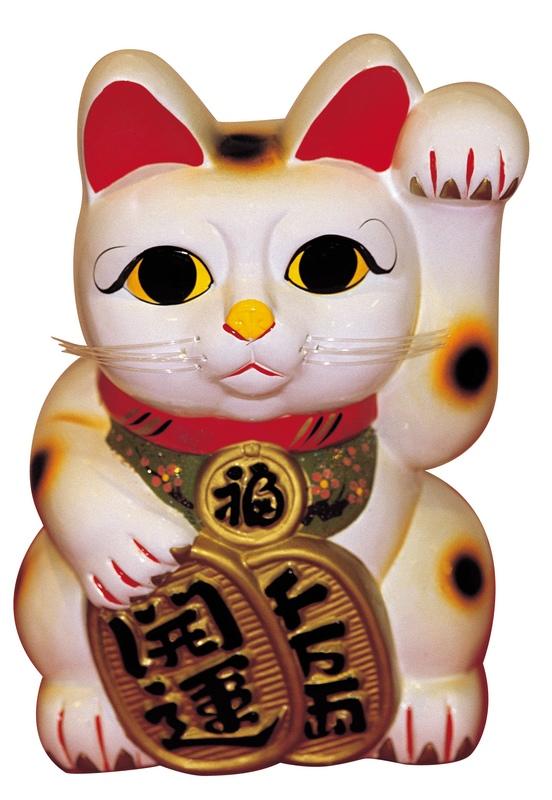 Maneki Neko   The Japanese Lucky Cat   The Beckoning Cat 552x800