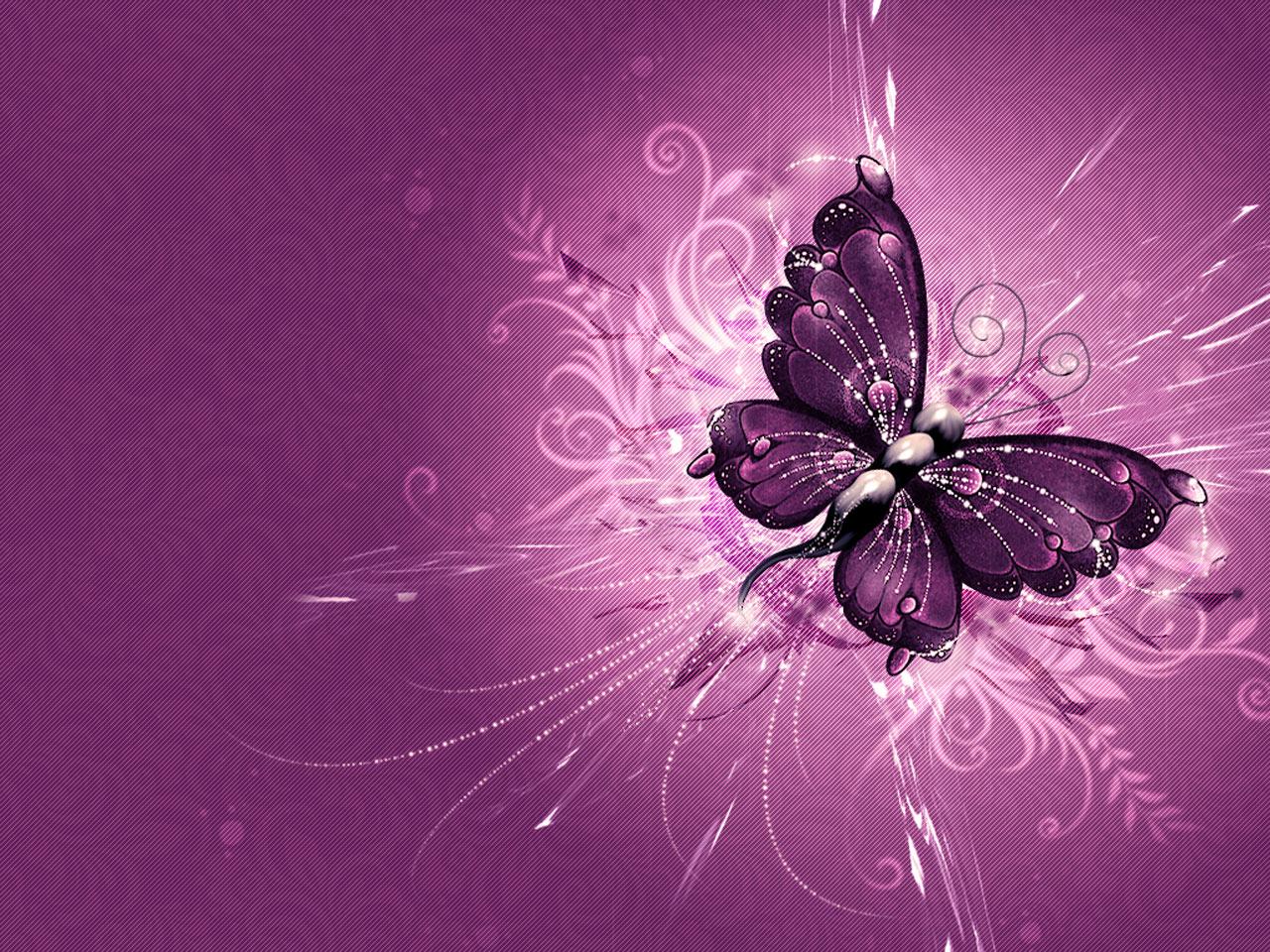 HD wallpaper Fantastic Purple Butterfly Wallpaper Desktop Background 1280x960