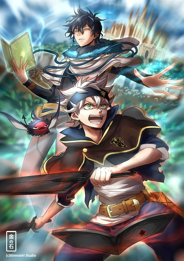 Pin by Junior Claudemir Napoleao on Anime Black clover anime 620x877
