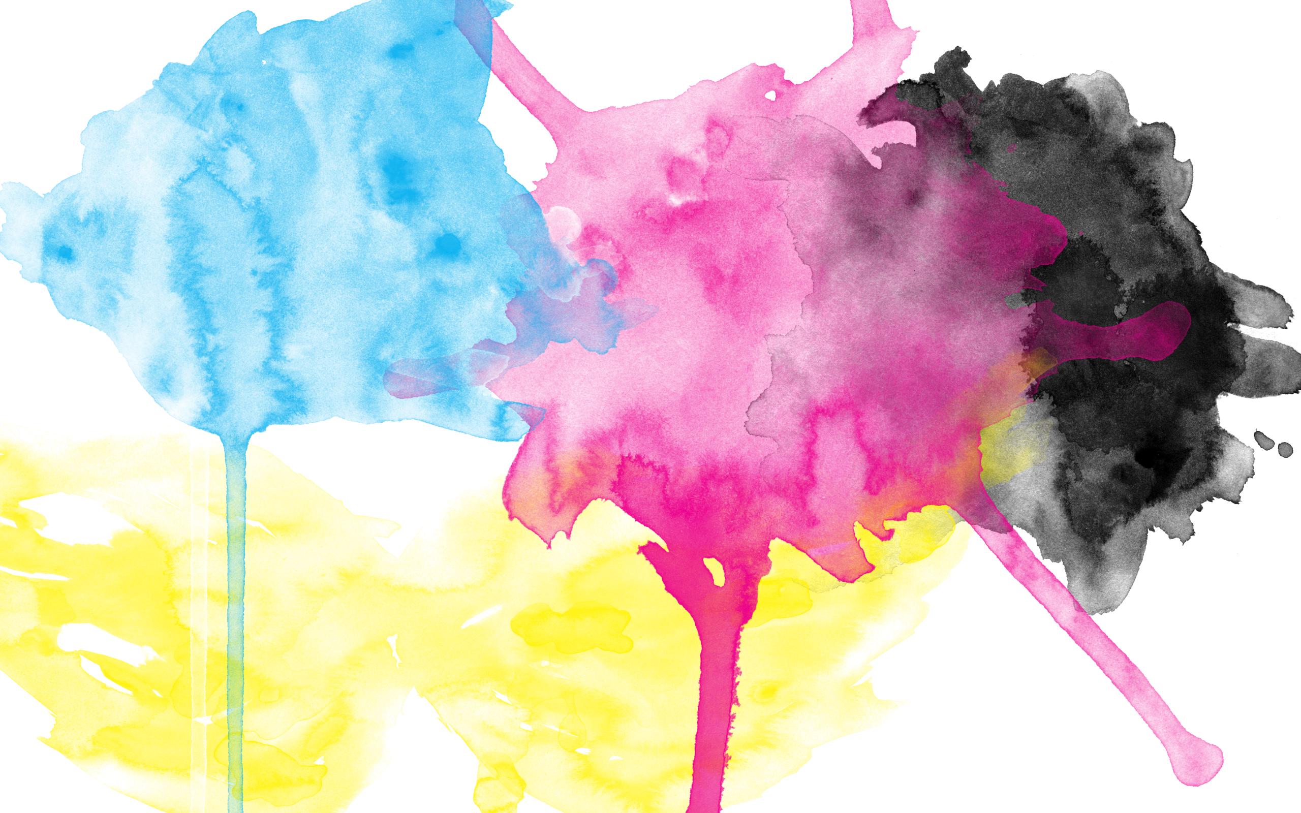 Abstract Water Painting Colors Samsung Galaxy S5 Hd: Watercolour Wallpaper