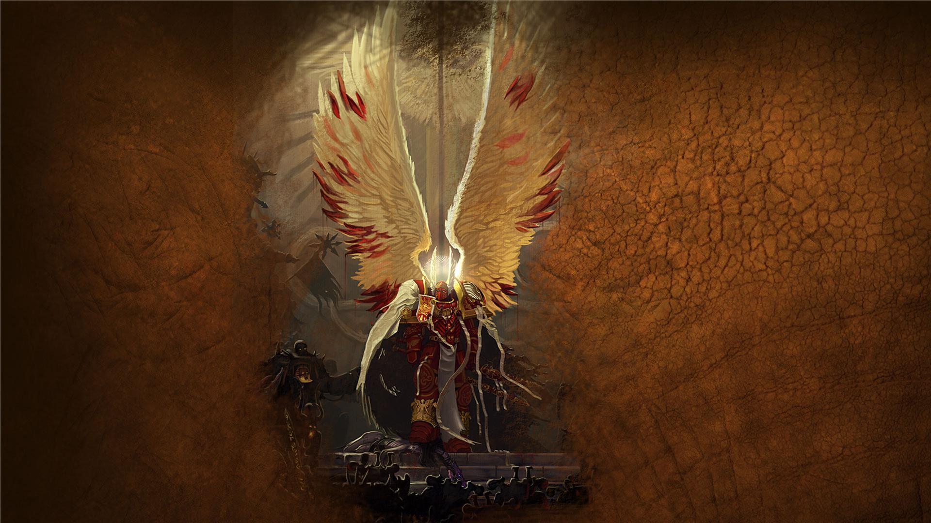 warhammer 40k blood angels sanguinius HD Wallpaper of Games 1920x1080