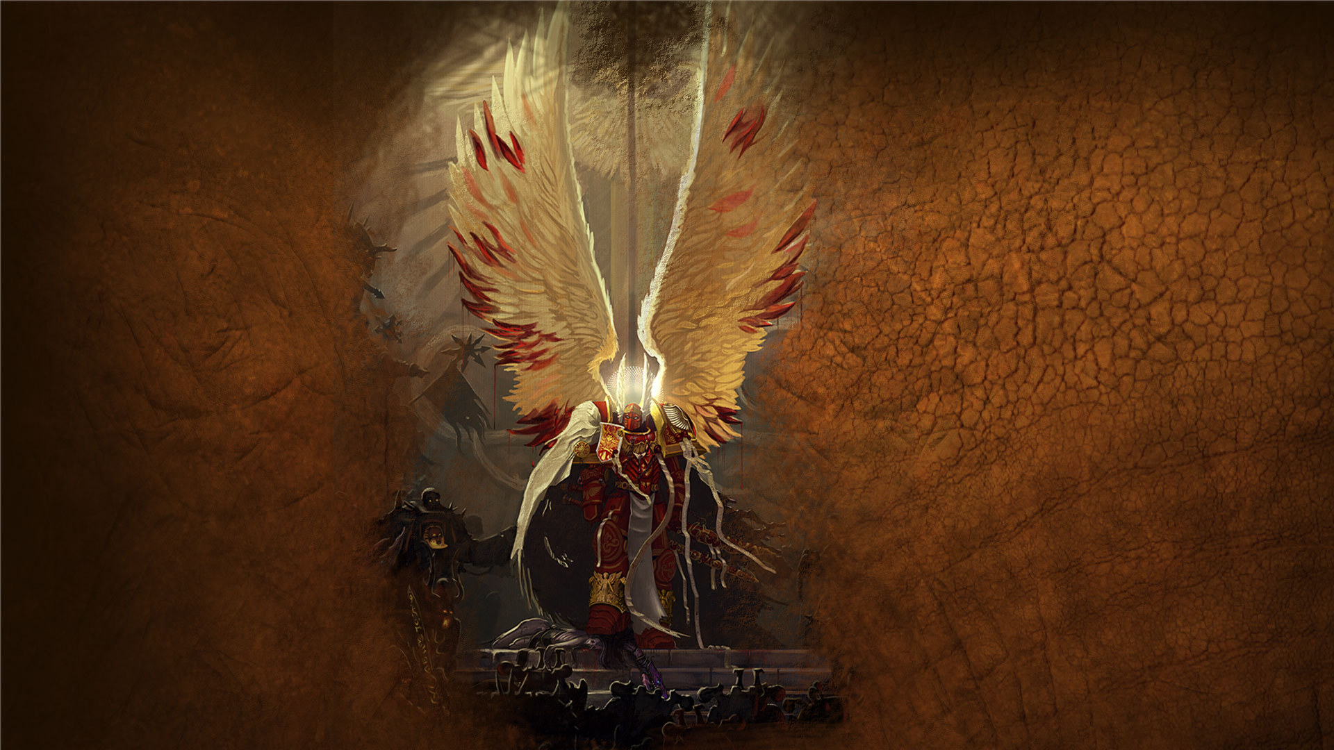 Warhammer 40k death company wallpaper - Warhammer 40k Blood Angels Sanguinius Hd Wallpaper Of Games