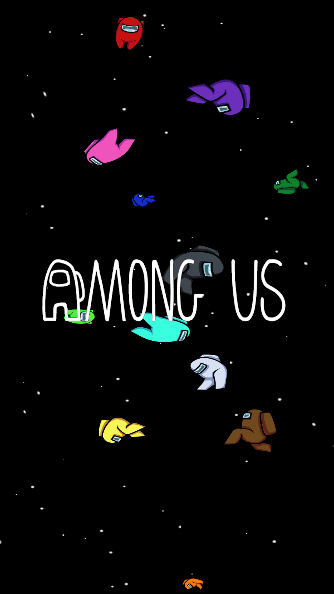 Made a phone wallpaper for Among Us First time doing anything 1080x1920