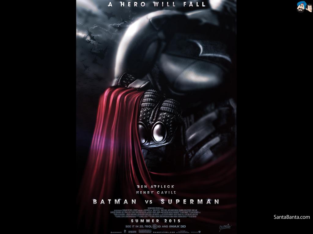 Download Batman vs Superman Dawn of Justice HD Movie Wallpaper 2 1024x768