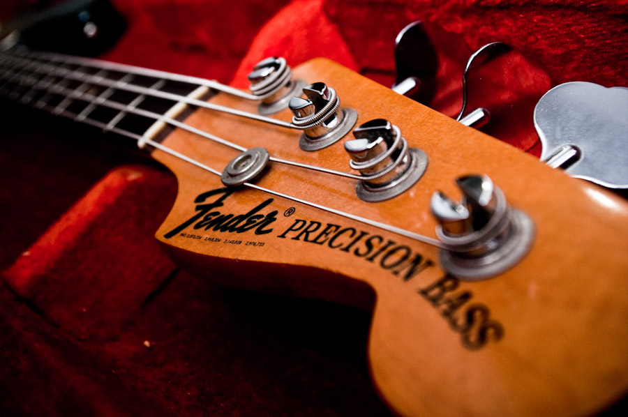 Bass Guitar Wallpaper: Fender Bass Wallpaper