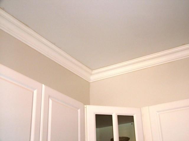 DCT Plain Styrofoam Crown Molding 6 in wide 65 ft long   Wallpaper 640x480
