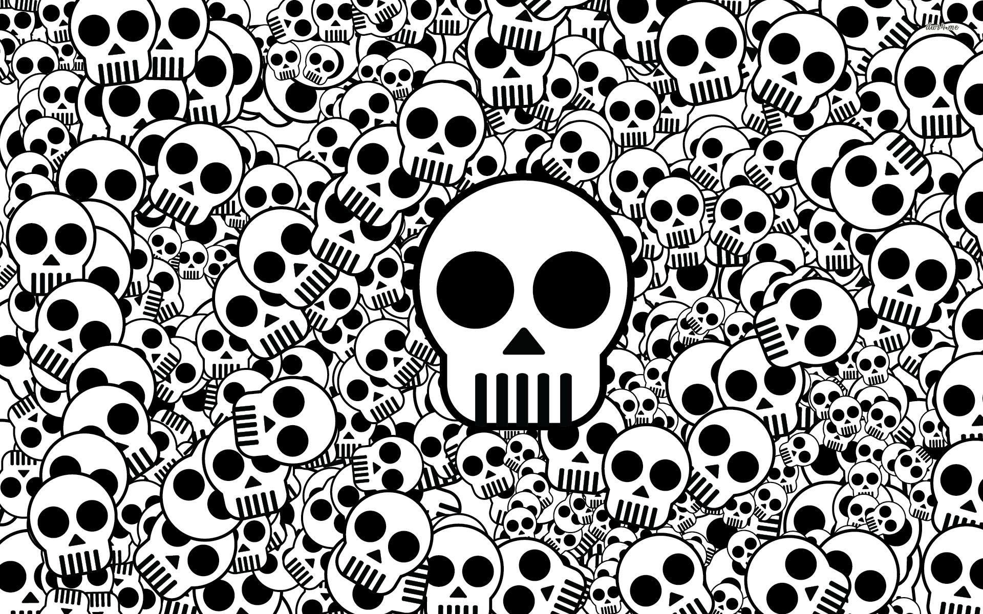 Skulls wallpaper 34231 1920x1200