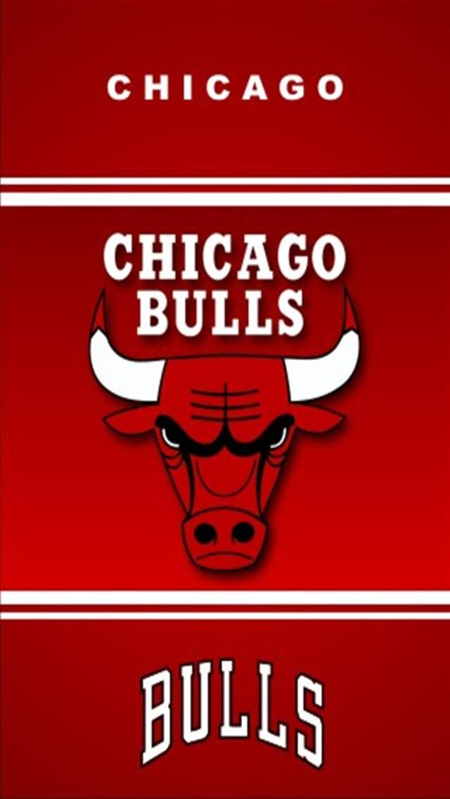 Chicago Bulls Sports iPhone Wallpapers iPhone 5s4s3G Wallpapers 640x1136
