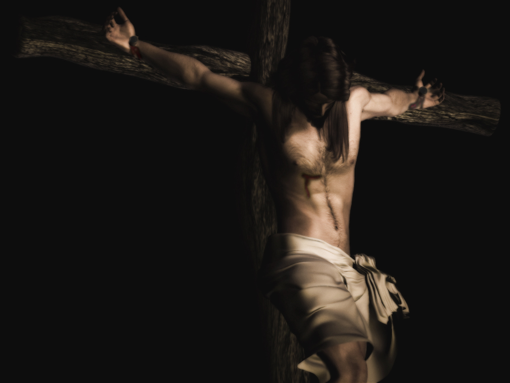 Desktop Wallpapers Backgrounds Jesus Cross Wallpaper 1024x768