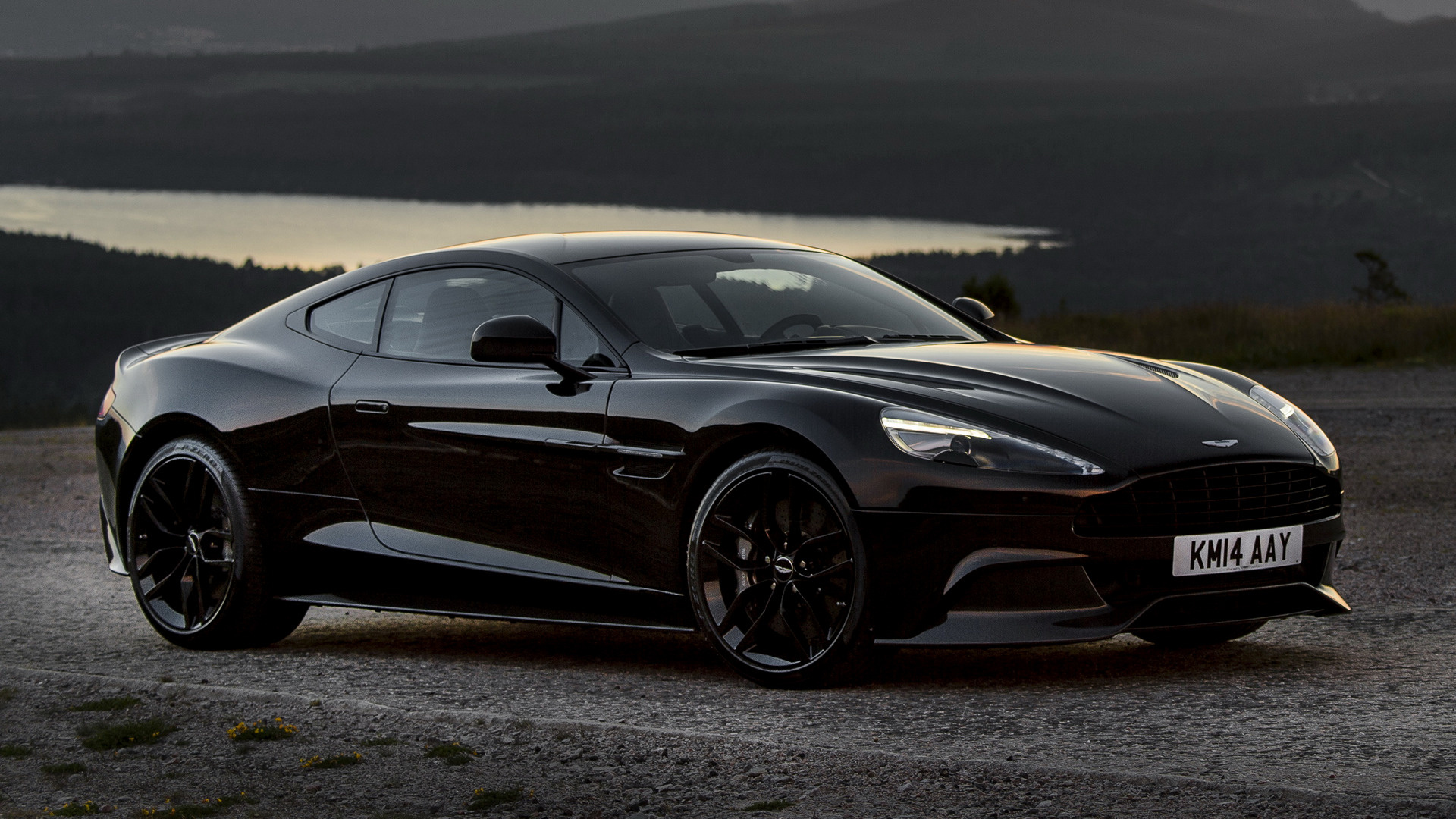 2014 Aston Martin Vanquish Carbon Black   Wallpapers and HD Images 1920x1080