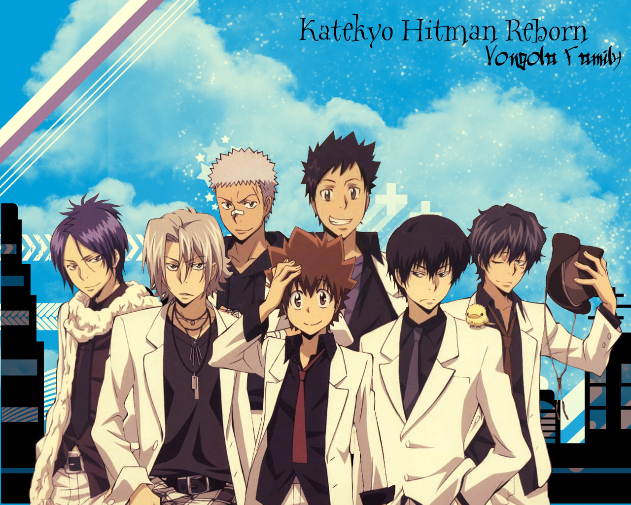 Katekyo Hitman Reborn images Vongola HD wallpaper and background 1280x1024