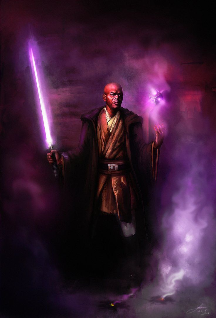 haaaaaaaaave you met ted Mace Windu by Lotsmanov Star wars 736x1084