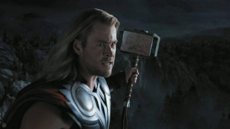 movies The Avengers Thor Chris Hemsworth Mjolnir 748x421
