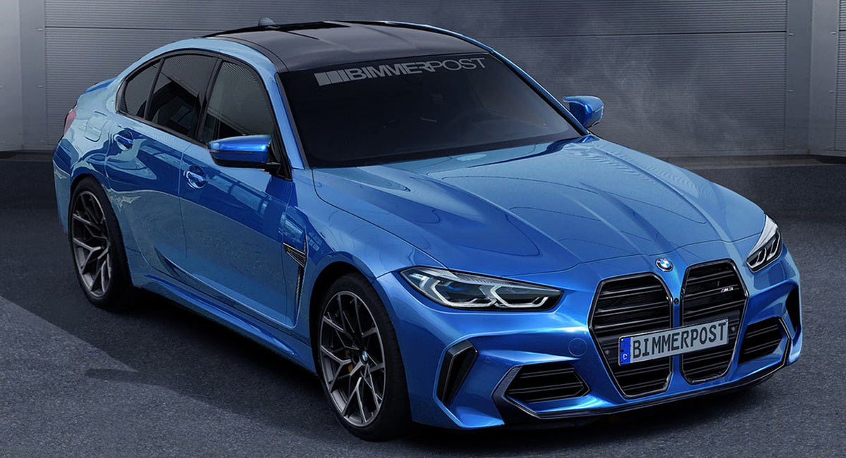 2021 BMW M3 From Flared Nostrils To Powertrains Heres 1200x650