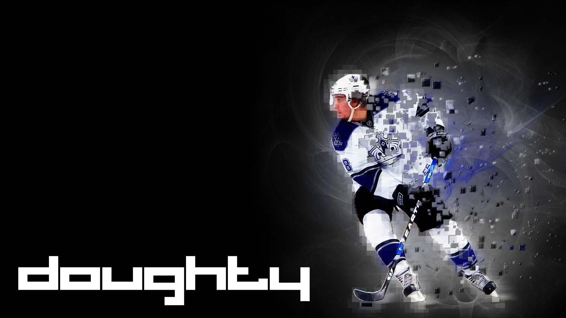 Hockey player of los angeles Drew Doughty wallpapers and images 1920x1080