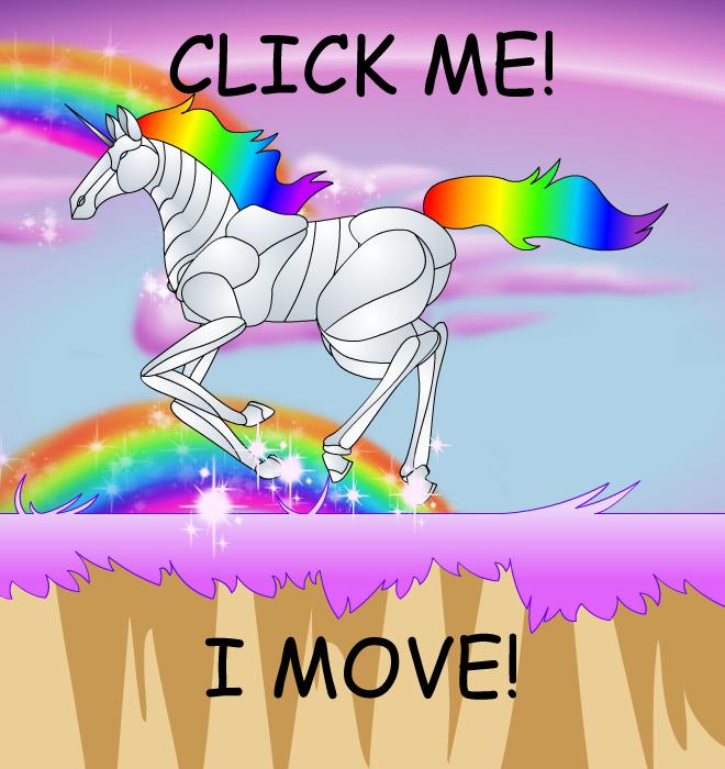 Robot Unicorn Attack Animated by Stelera 660x700