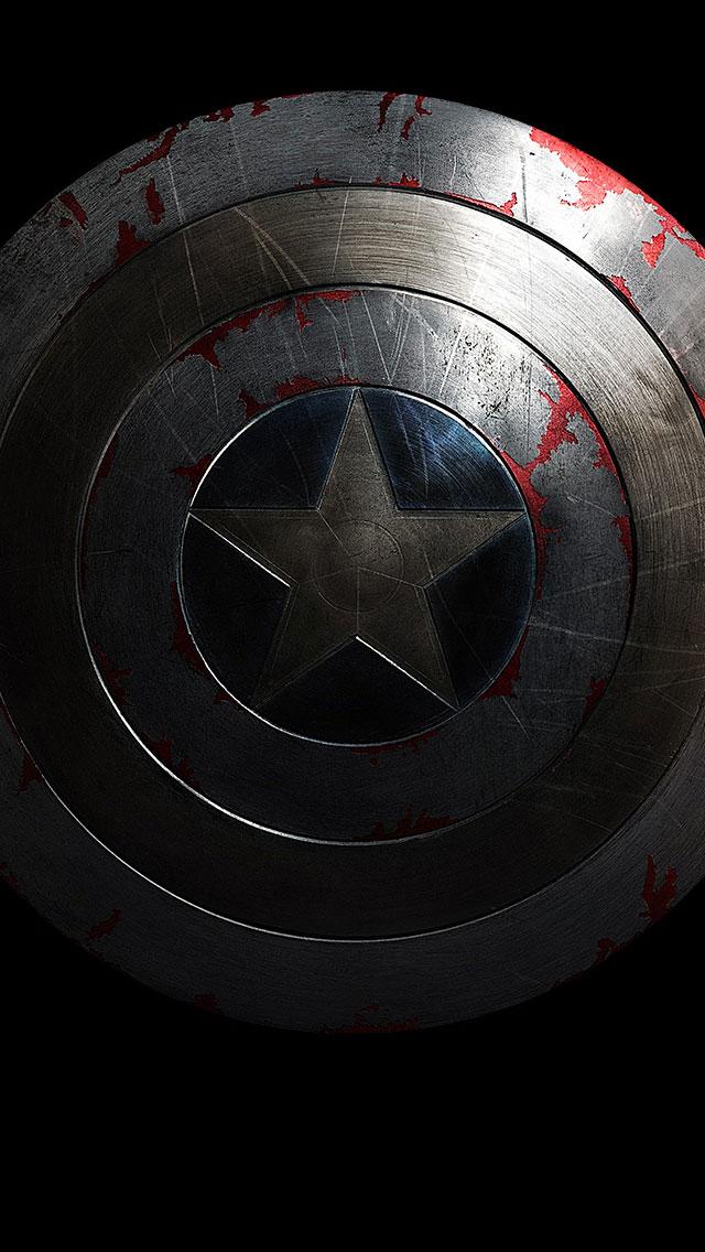Captain America Shield iPhone Wallpaper 640x1136