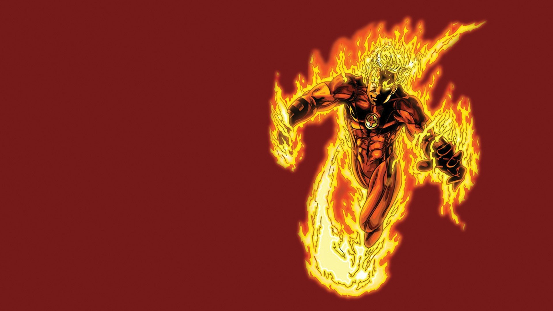 Human Torch Wallpaper 70 images 1920x1080