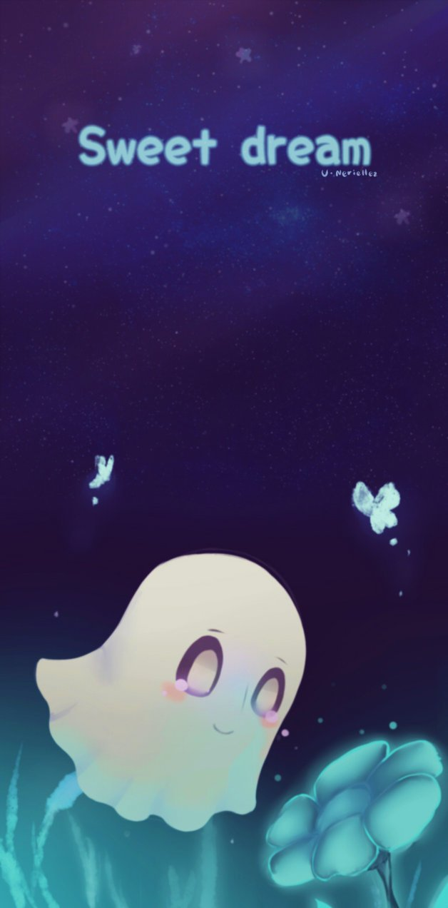 Undertale Sweet dream Blooky by TsurunagI 628x1272